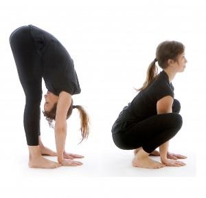 Dynamisk rörlighet i fotleder och baksida lår