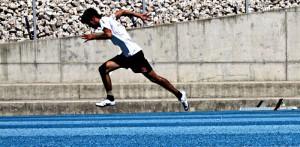Acceleration löpning